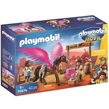 Picture of Playmobil - Marla & Del with Pegasus