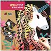 Picture of Avenir - Scratch Art Kit Magic Unicorn