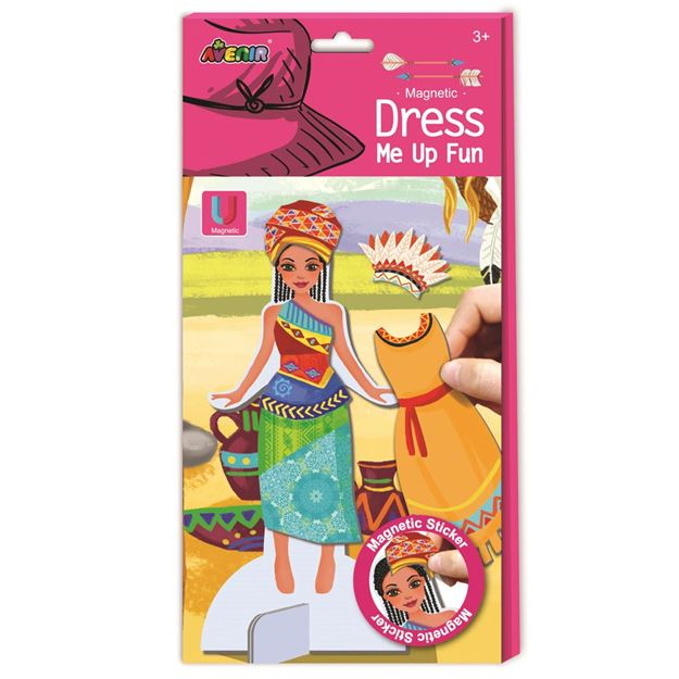 Picture of Avenir - Magnetic Dress Me Up - Tribal Princess