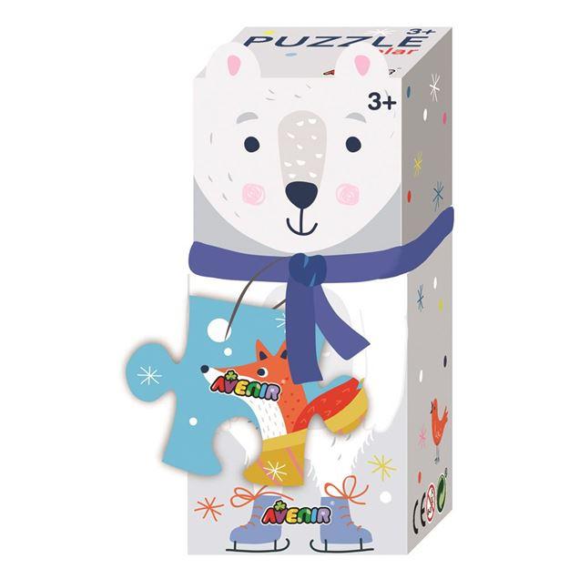 Picture of Avenir 28 Piece Puzzle Gift Box Polar Bear