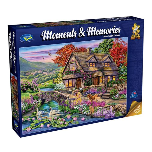 Picture of Holdson Puzzle - Moments & Memories S2 (Swan Creek Cottage)