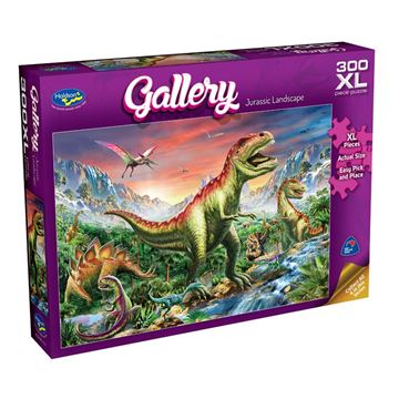 Picture of Holdson Puzzle - Gallery 6 300pc XL (Jurassic Landscape)