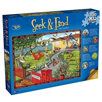 Picture of Holdson Puzzle - Seek & Find 300XL pc (The Garden)