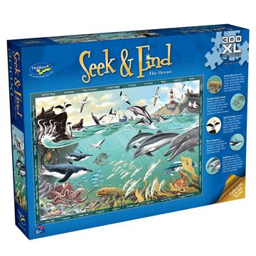 Picture of Holdson Puzzle - Seek & Find 300XL pc (The Ocean)