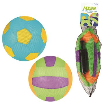 Picture of Mesh Ball (deflated) with pump
