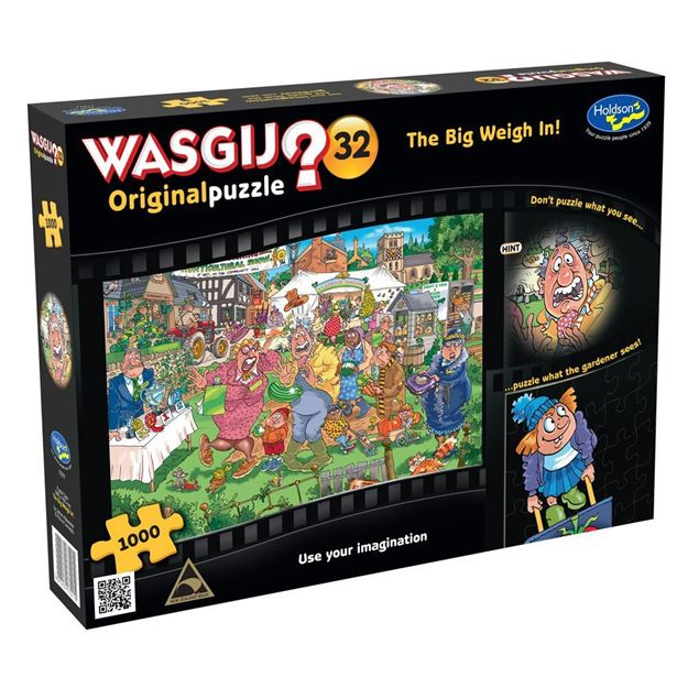 Picture of Holdson Puzzle - Wasgij Original 32 1000pc (The Big Weigh In!)