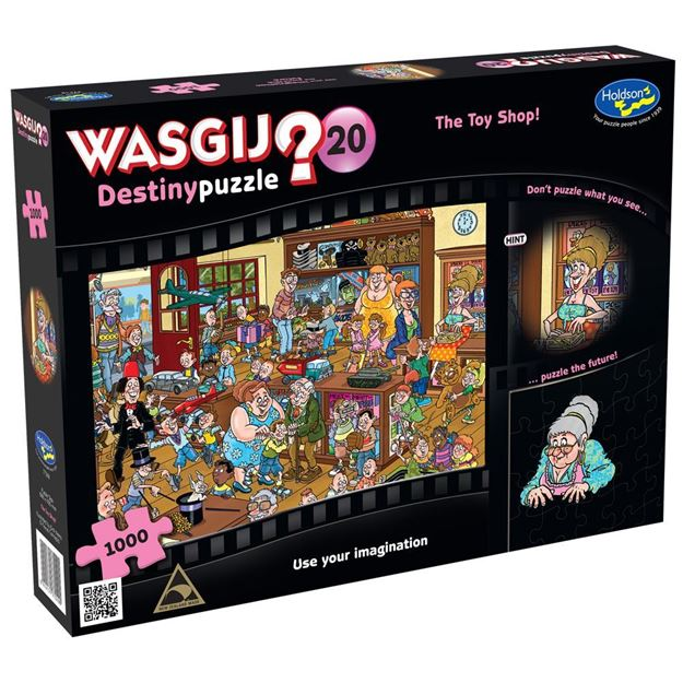 Picture of Holdson Puzzle - Wasgij Destiny 20 1000pc (The Toy Shop!)