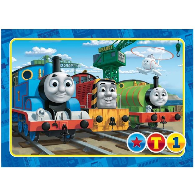 Picture of Holdson Puzzle - Set of Four Thomas & Friends, 35pc Frame Tray Series