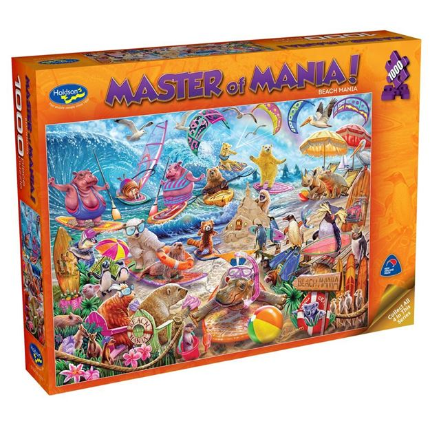 Picture of Holdson Puzzle - Master Of Mania! 1000pc (Beach Mania)
