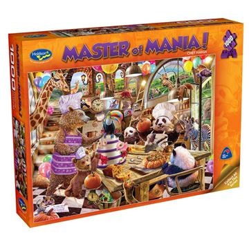 Picture of Holdson Puzzle - Master Of Mania! 1000pc (Chef Mania)