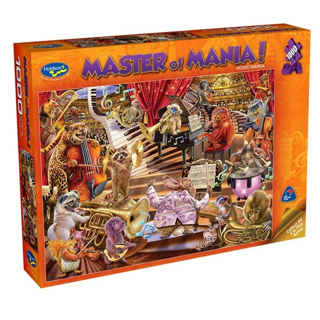 Picture of Holdson Puzzle - Master Of Mania! 1000pc (Music Mania)