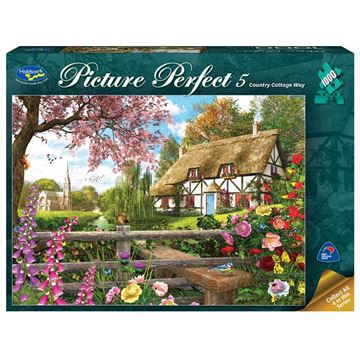 Picture of Holdson Puzzle - Picture Perfect 5 1000pc (Country Cottage Way)
