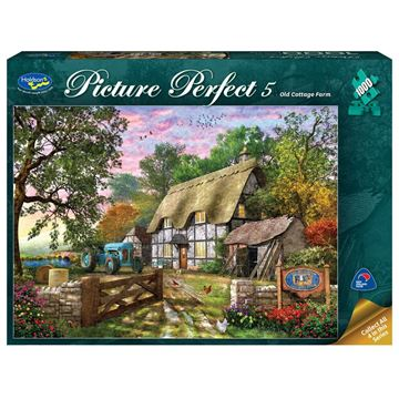 Picture of Holdson Puzzle - Picture Perfect 5 1000pc (Old Cottage Farm)