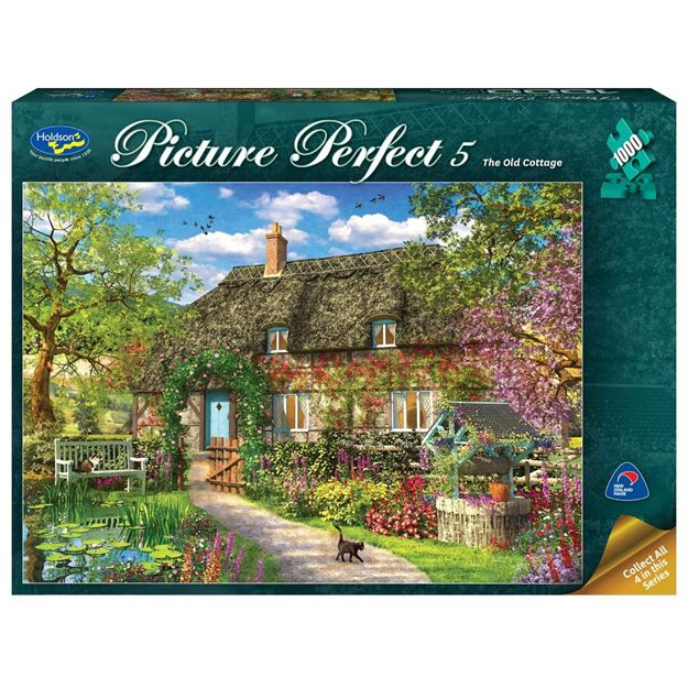 Picture of Holdson Puzzle - Picture Perfect 5 1000pc (The Old Cottage)