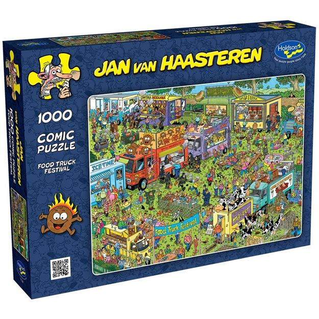 Picture of Holdson Puzzle - Van Haasteren 1000pc (Food Truck Festival)