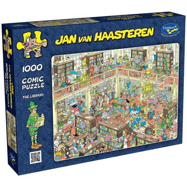 Picture of Holdson Puzzle - Van Haasteren 1000pc (The Library)