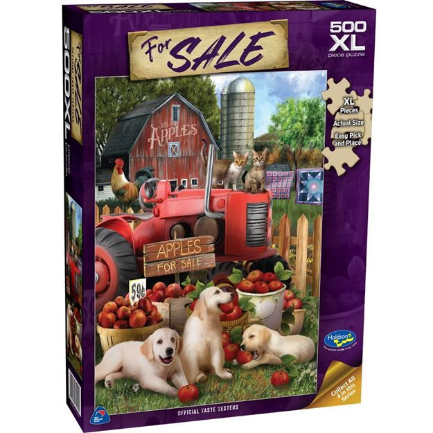 Picture of Holdson Puzzle - For Sale 500XLpc (Official Taste Testers)