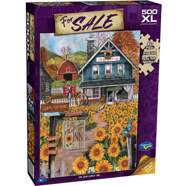 Picture of Holdson Puzzle - For Sale 500XLpc (The Sunflower Inn)