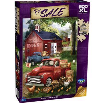 Picture of Holdson Puzzle - For Sale 500XLpc (Winston's Farm Fresh Eggs)