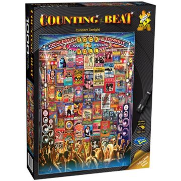 Picture of Holdson Puzzle - Counting the Beat 1000pc (Concert Tonight)