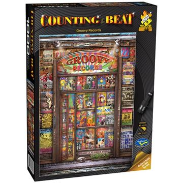 Picture of Holdson Puzzle - Counting the Beat 1000pc (Groovy Records)