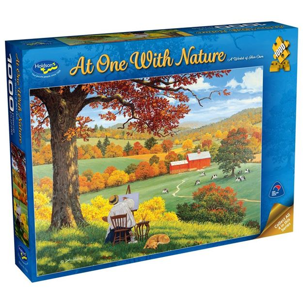 Picture of Holdson Puzzle - At One with Nature, 1000pc (A World of Her Own)