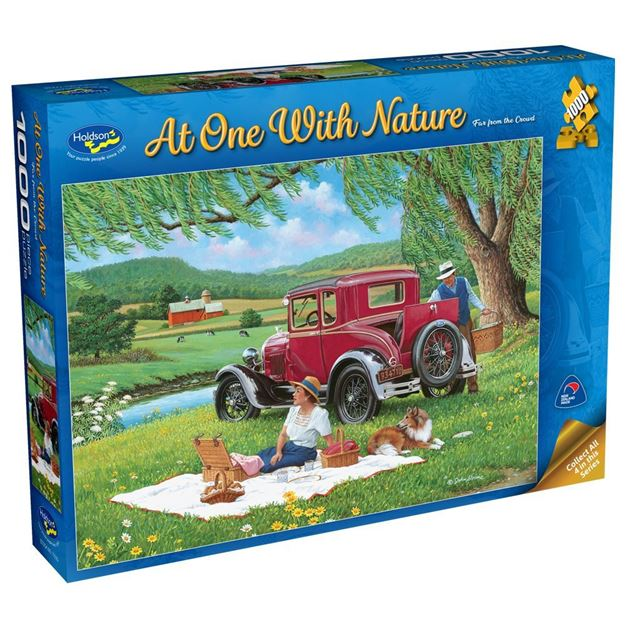 Picture of Holdson Puzzle - At One with Nature, 1000pc (Far from the Crowd)