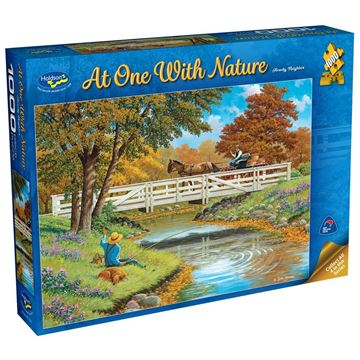 Picture of Holdson Puzzle - At One with Nature, 1000pc (Howdy Neighbor)