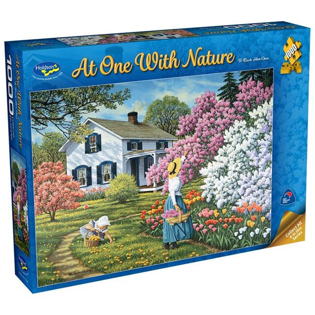 Picture of Holdson Puzzle - At One with Nature, 1000pc (To Each Her Own)
