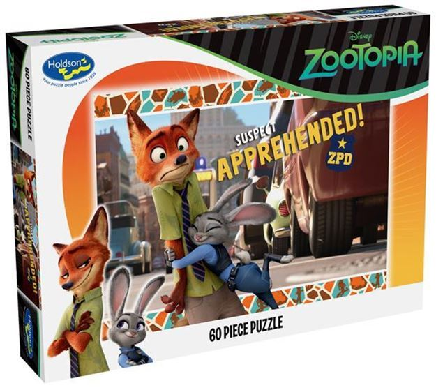Picture of Holdson Puzzle - Zootopia 60pc (Suspect Apprehended)