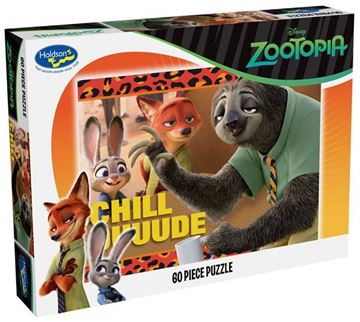 Picture of Holdson Puzzle - Zootopia 60pc (Chill Duuuuude)