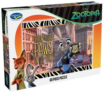 Picture of Holdson Puzzle - Zootopia 60pc (Paws In The Air)