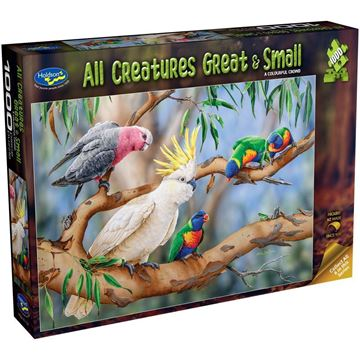 Picture of Holdson Puzzle - All Creatures Great & Small, 1000pc (A Colourful Crowd)
