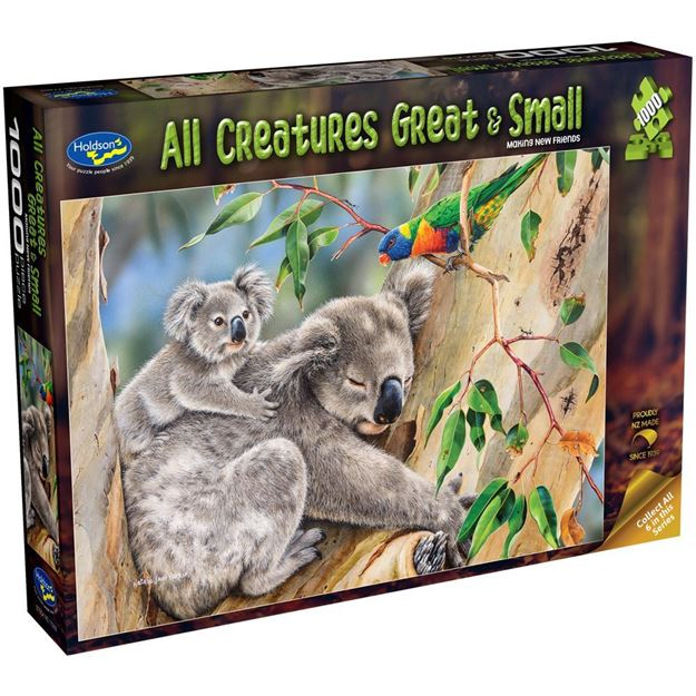 Picture of Holdson Puzzle - All Creatures Great & Small, 1000pc (Making New Friends)