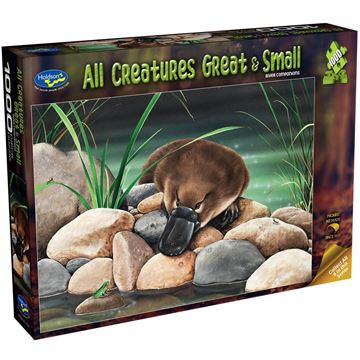 Picture of Holdson Puzzle - All Creatures Great & Small, 1000pc (River Companions)
