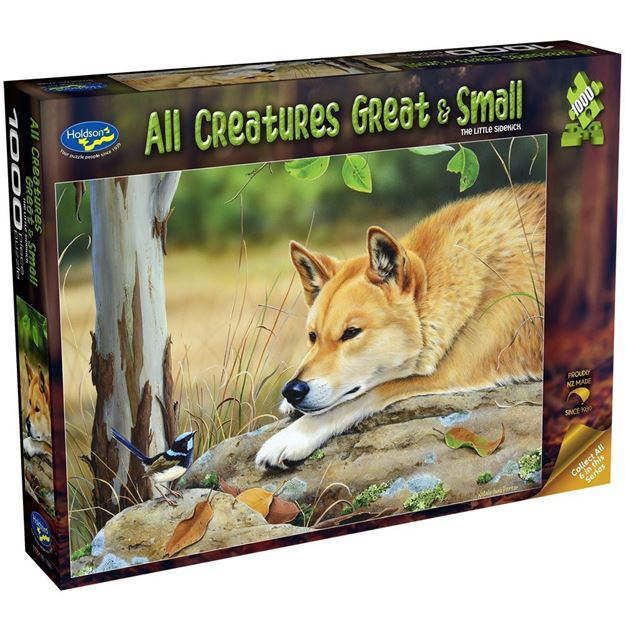 Picture of Holdson Puzzle - All Creatures Great & Small, 1000pc (The Little Sidekick)