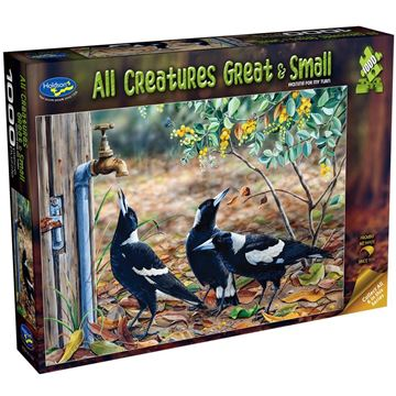 Picture of Holdson Puzzle - All Creatures Great & Small, 1000pc (Waiting For My Turn)