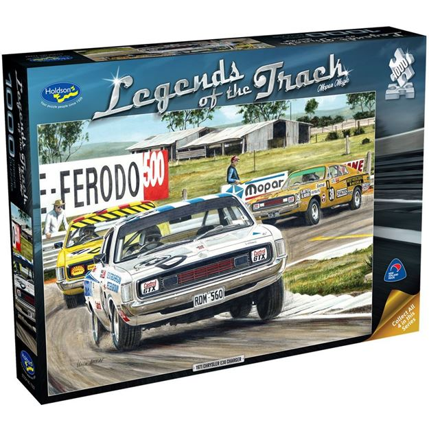Picture of Holdson Puzzle - Legends of the Track  1000pc (Mophar Magic)