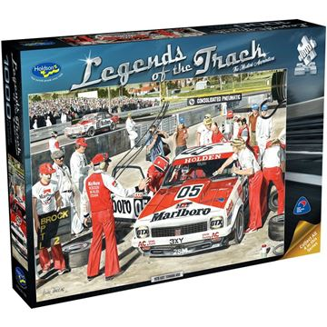 Picture of Holdson Puzzle - Legends of the Track  1000pc (The Masters Apprentice)