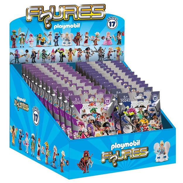 Picture of Playmobil - Series 17 Mixed Blind Bag Display (48)