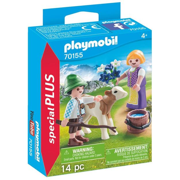 Picture of Playmobil - Children with Calf