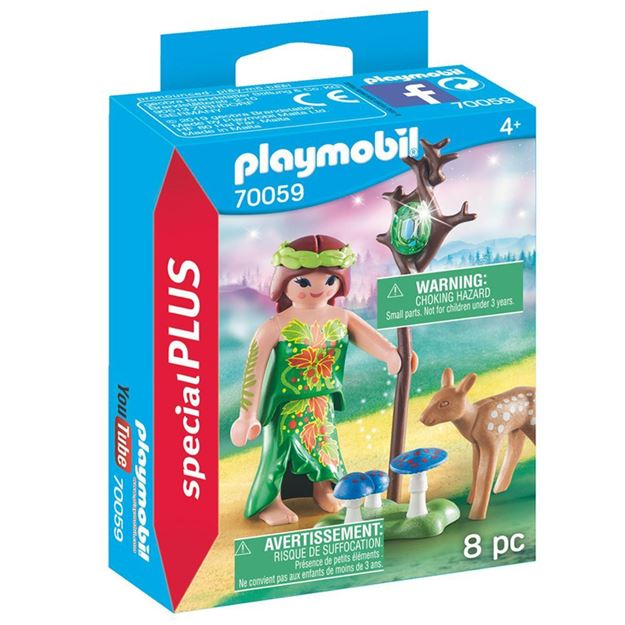 Picture of Playmobil - Fairy with Deer
