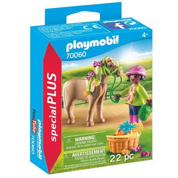Picture of Playmobil - Girl with Pony