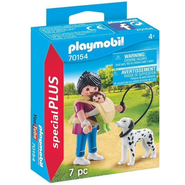 Picture of Playmobil - Mother with Baby & Dog