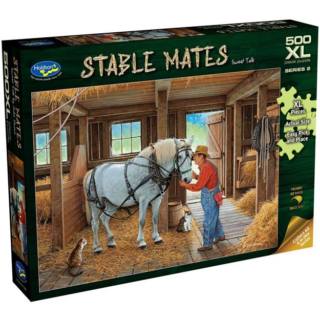 Picture of Holdson Puzzle - Stable Mates S2, 500pc XL (Sweet Talk)