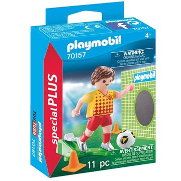 Picture of Playmobil - Soccer Player with Goal