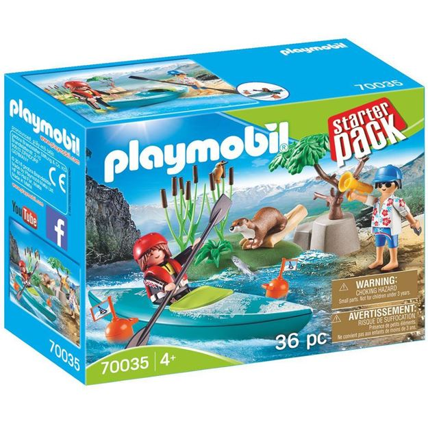 Picture of Playmobil - Kayak Adventure Starter Pack