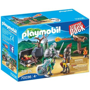 Picture of Playmobil - Knights Treasure Battle Starter Pack