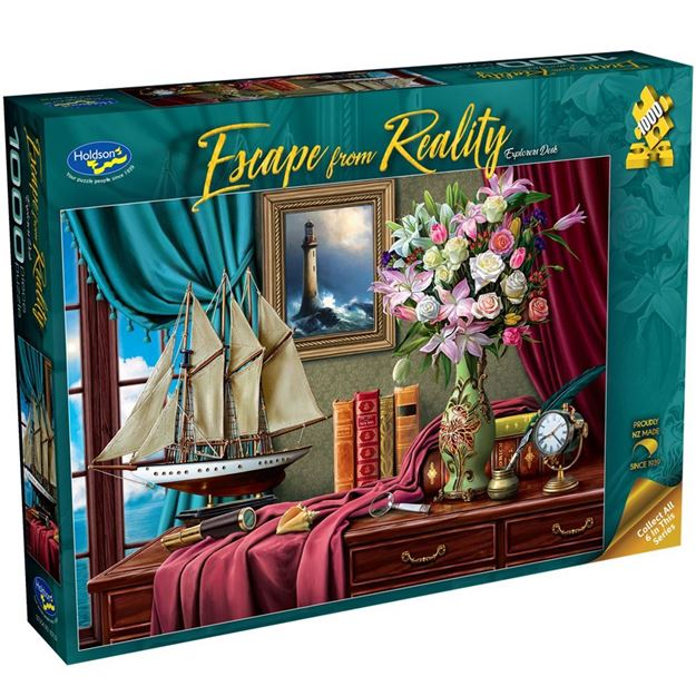 Picture of Holdson Bargain Puzzle - Escape from Reality 1000pc (Explorers Desk)
