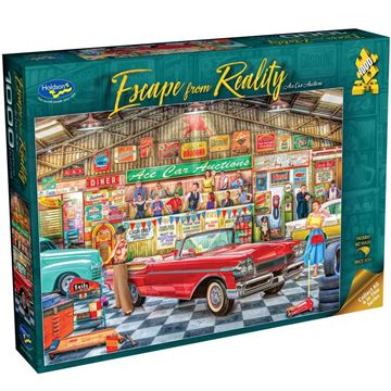 Picture of Holdson Bargain Puzzle - Escape from Reality 1000pc (Ace Car Auctions)